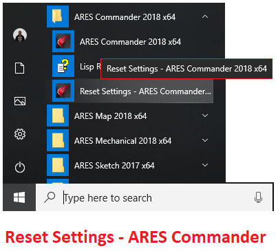 Reset Settings - ARES Commander.png